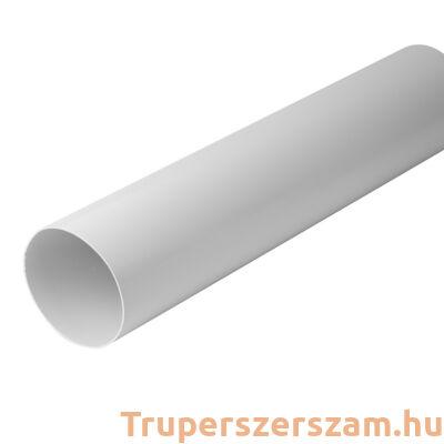 PVC merevcsatorna NA125-0,5 m