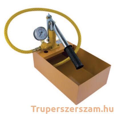 Vizsgáló pumpa 25 bar