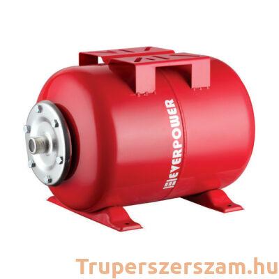 Tágulási tartály - vízszintes, hidrofórhoz 24L