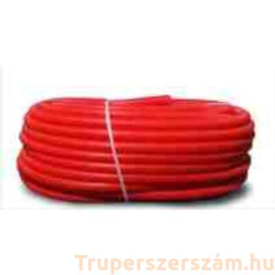 Gégecső 21 mm, piros