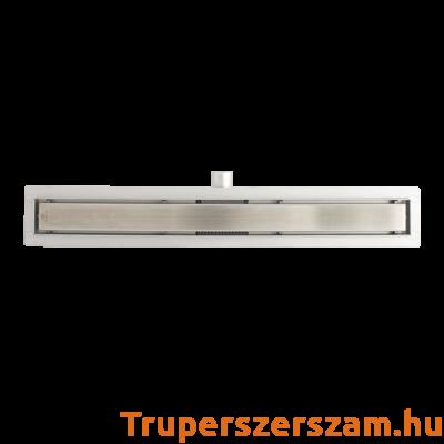 Rozsdamentes zuhanyfolyóka - modern 40*7 cm