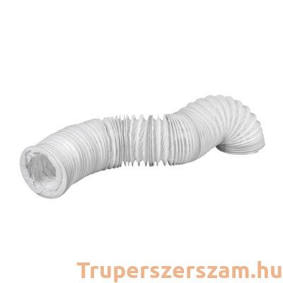 PVC flexibilis csatorna huzalerősítéssel NA100-3 m