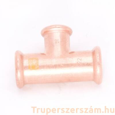 Gáz press szűkített T-idom 22-15-22