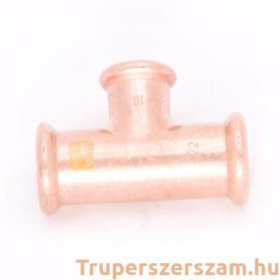 Gáz press szűkített T-idom 22-28-22