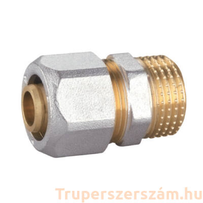 """Kulcsos csatlakozó külső menetes (KM) 16*1/2"""" (FD-R1612M)"""