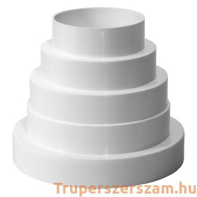 Műanyag lépcsős szűkítő (VA80)
