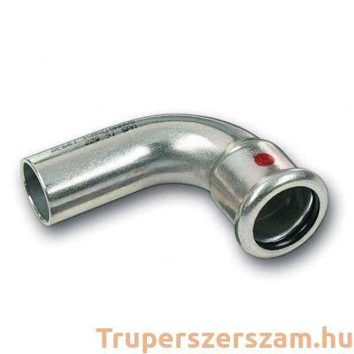 Szénacél press könyök 90° KB 18 mm