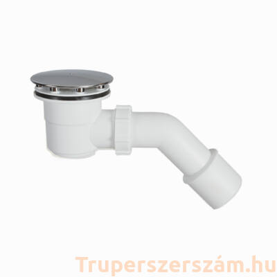 Zuhanytálca szifon 60 mm, alacsony