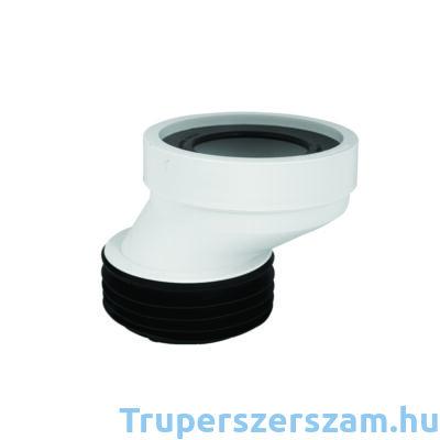 WC bekötő, 40 mm-es eltolású