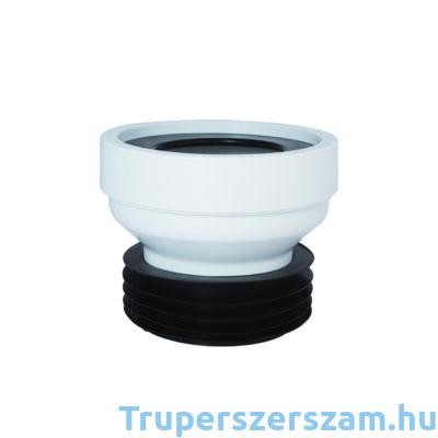 WC bekötő, egyenes