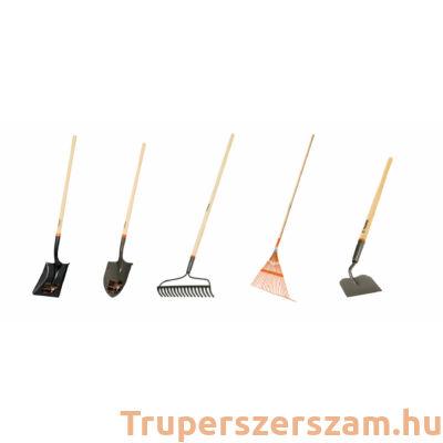 Kerti szerszám (ásó, lapát, gereblye, kapa, fűseprű) EXTRA csomag