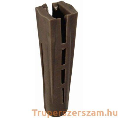 Műanyag tipli, szögletes 12 mm (100db/csom)