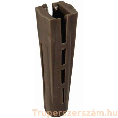 Műanyag tipli, szögletes 14 mm (100db/csom)