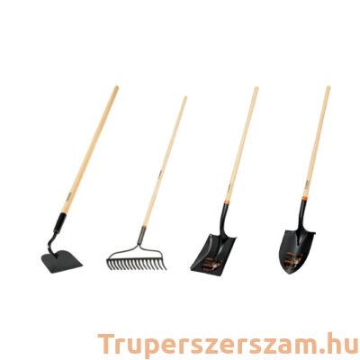 Kerti szerszám (ásó, lapát, gereblye, kapa) BŐVITETT csomag